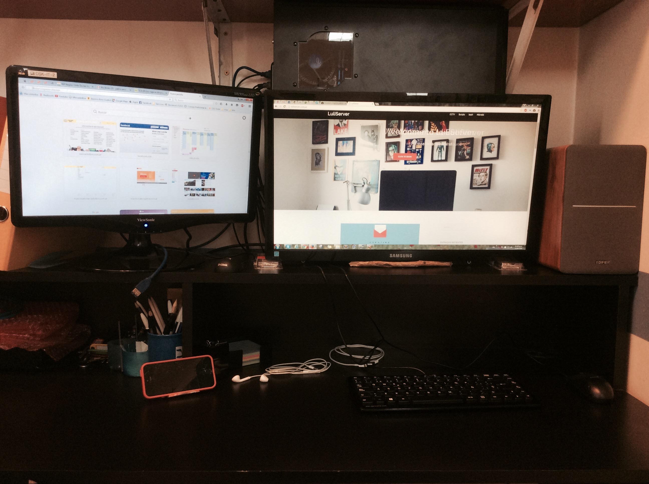 Setup en la oficina